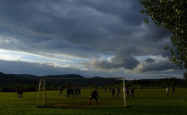 a táj szép, a levegő jó, a foci olyan, amilyen